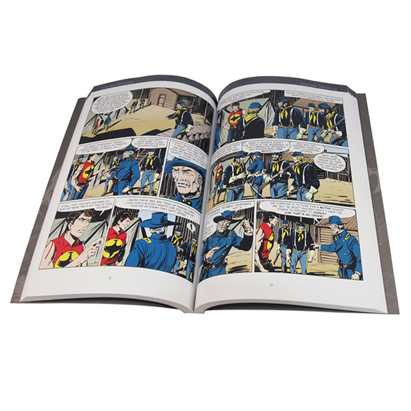 Full color perfect bound Cheap Comic Book printing