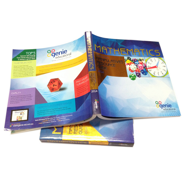 Wholesale CMYK Math Text Book Printing With High Quality