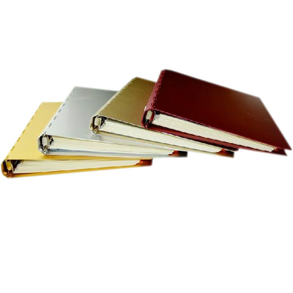 Custom colorful series Aluminum cover diaries