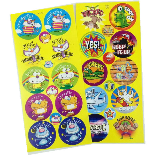 High quality paper sticker printing with best price