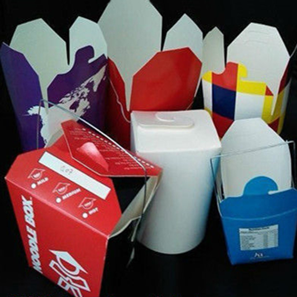 Multi food custom take out paper box