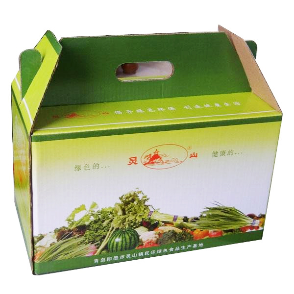 strong carton packaging box with full color printing