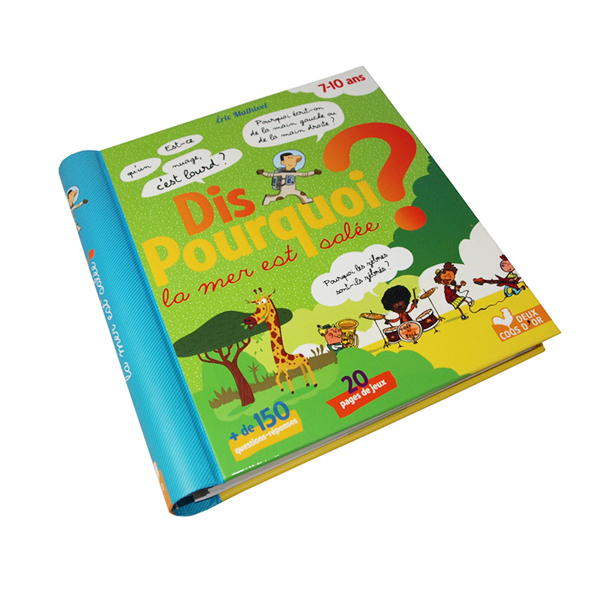 China Printing Cheap Hardcover Spiral Bound Wire O Children Story Book